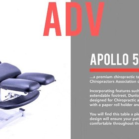 Athlegen Apollo5 Advantage Chiropractic Table
