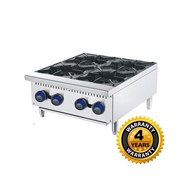 Cookrite Gas 4 Burner Open Cooktop  ATHP-24-4