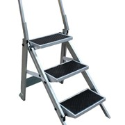 3 Step Compact Step Ladder Little Monstar - 150kg rated