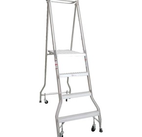 Monstar 4 Step Platform Ladder - 1.13m - Monstar