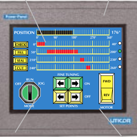 HMI Panel Touch Screen | Uticor PGI100 Series