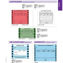 Drug Labels | Containers, Line &Catheter, Conduits