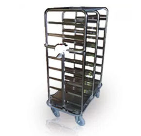Electric Battery Powered Food Rack and Tray Trolley | Lockwood