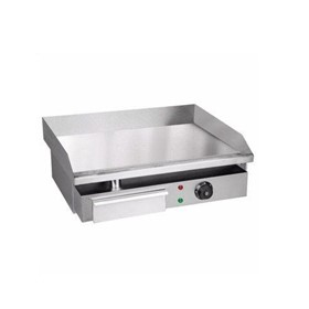 Commercial Electric Griddle & Flat Top Grill Hot Plate 55cm 3kW