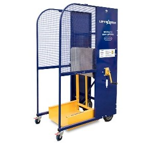Liftmaster manually operated bin lifter - 50kg capacity |  ECOLIFT50
