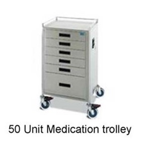 Oxford Dosage Medication Carts - 30 & 50 Dosage Medication Storage