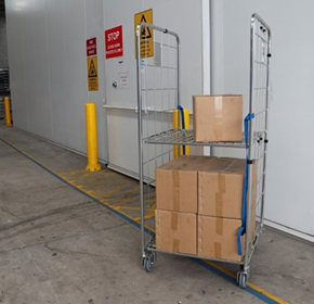 2 Sided Roll Cage Trolley