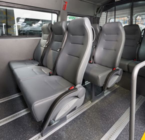 Flooring solution fits govt vehicles' safety and high traffic demands