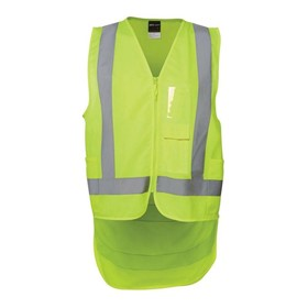 Hi Vis D/Tail Safety Vest-D+N