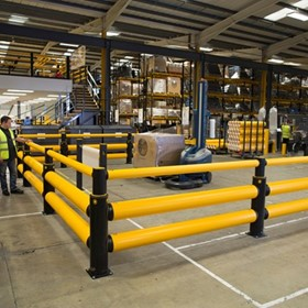 Safety Barrier - A-SAFE - Traffic Double-Rail+ iFlex Barrier