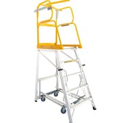 Mobile Platform Ladder 1.145m | Stockmaster Navigator