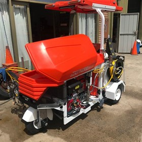 Ride on Line Marking Machine | Model LT-twin18