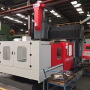 Acra Seiki heavy duty double column vertical machining centres