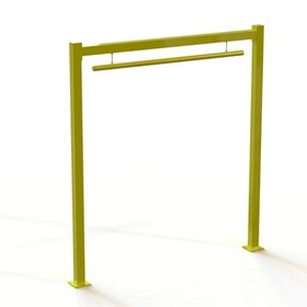 Verge Door Protection Barriers with Warning Bars