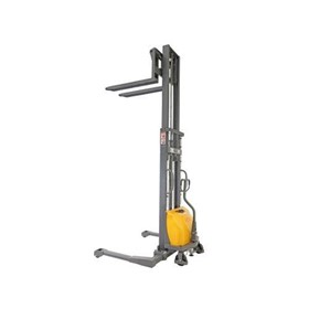 Semi Auto Electric Fork Stacker