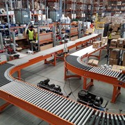 Ebos Healthcare Case Study | Warehouse & Dispatch Conveyor System