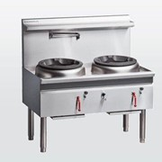 Cobra CW2H-DD | 1200mm Gas Waterless Wok with 2 Duckbill burners