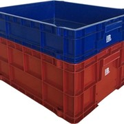 Stackable Plastic Crates Solid | IB Honeycomb