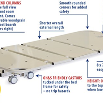 Columnless Floor Bed | SafeCare