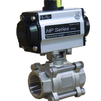 Challenger Valves & Actuators | Ball Valves - Actuated ball