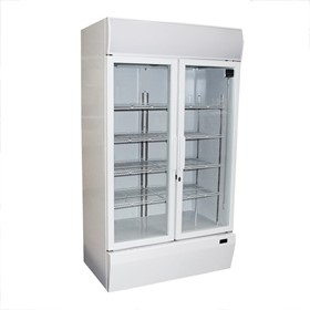Mitchel 2 Door Drinks Refrigerator With Swing Doors