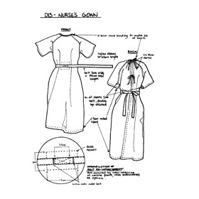 Hospital Gowns | D13 Nurses Gown