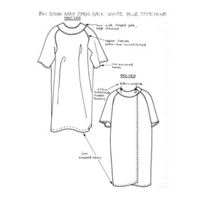 Patient Gowns | B41 X-Ray Gown