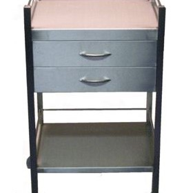Instrument Trolley | 2 - Drawer Stainless Steel Trolleys