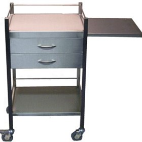 Instrument Trolley | 2 - Drawer Trolley with Sliding Shelf