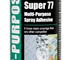 Multi-Purpose Spray Adhesive | M™ Super 77™