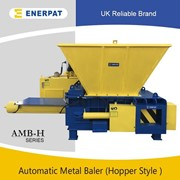 UK Enerpat Aluminum Metal Chips Briquette Press Machine for Sale