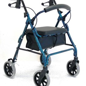 "Walking Aids - 8"" Height Adjustable Seat Walker"