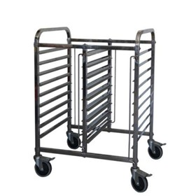 Gastronorm Rack & Trolley | 1/1 Double-Half-Height