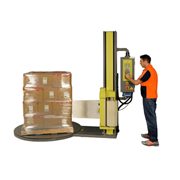 Automatic Pallet Stretch Wrapping Machine with Weighing System | M1660