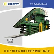 Fully Automatic Horizontal PET Bottle Baler | Cardboard Baler