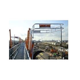 Railcar Cage Safety Fall Protection