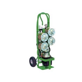 Stainless Steel 4 Pot Filtration Equipment Trolley