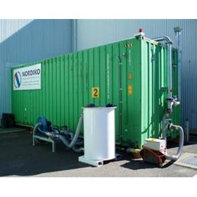 Cargo Fumigation & Recapture Chamber for Containers