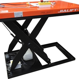 1T Electric scissor lift table lift height up to 1040mm