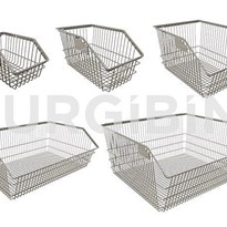 Storage Solutions | SURGIBIN® | Wire Baskets