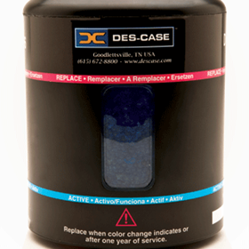 Des-Case | Dirt & Water Desiccant  | Extreme Duty Breathers