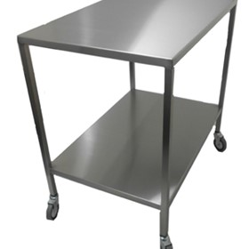 Flat Top Instrument Trolley | SS24