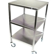 Flat Top Instrument Trolley | SS28