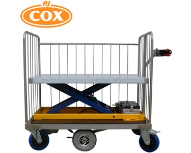 The Ultimate Trolley with rising base offers amazing versatility