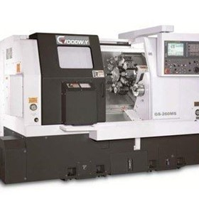 CNC Lathes-Slant Bed Lathes-Goodway GS Series CNC