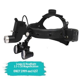 LED Headlight KS-W04 & Magnification Calileo Loupe