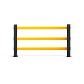 Pedestrian Segregation Barrier - eFlex 3 Rail