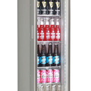Schmick | Skinny Glass Door Bar Fridge Upright | SK135R-S
