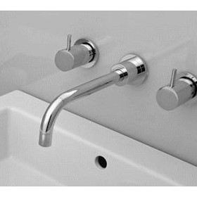 Wall Set with Fixed Spout | Geo Viva | VIV-C0043S