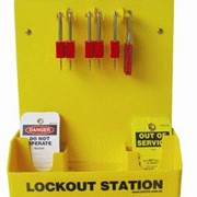 Lockout Station / Basic - 5 Padlocks -LST-1